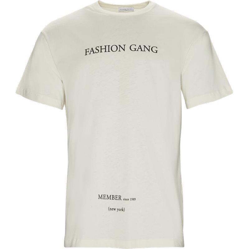 Ih nom uh nit t-shirt off white fra ih nom uh nit på axel.dk